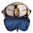 PacaPod Nelson Navy Wickeltasche & Rucksack & Messenger Bag