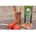 Olivenholz Utensilienbehälter rund | Olivenholz erleben