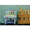 Holz Werkbank mit Werlzeug (pastell) | EverEarth