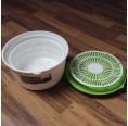 Gies Greenline Salatschleuder aus Biokunststoff
