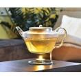 Glas Teekanne SOLO mit Edelstahlfilter