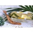 Olivenholz Weinflaschenhalter WELLE | Olivenholz erleben