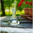Nature's Design Delicate Karaffe 0,5 Liter Blume des Lebens Gold