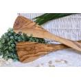 Olivenholz Pfannenwender (ohne Löcher)