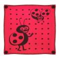 Babydecke Marienkäfer schwarz-rot – Bio-Baumwolle | Sonnenstrick