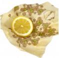 Bio Bienenwachstuch für Obst   Jaus'n Wrap