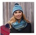 Damen Bommelmütze Stella aus Bio-Merinowolle | Reiff