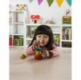 EverEarth Clown mit Hut, gelb – Stapelspielzeug aus FSC® Holz