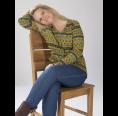 Damen Strickjacke Thea Paisley Muster – Bio Wolle | Reiff