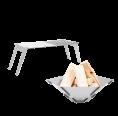 Fennek 4FIRE + HEXAGON Set mobile Feuerschale & Grillrost