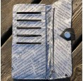 Portemonnaie aus recyceltem Motorradschlauch | milchmeer