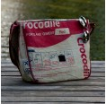 XXL Messenger Bag - Krokodil