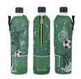 Fußball Mehrwegflasche im Neoprenbezug | Dora's