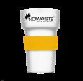 Hitzeschutz-Manschette Gelb für Mehrwegbecher Tree Cup 300