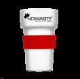 Hitzeschutz-Manschette Rot für Mehrwegbecher Tree Cup 300
