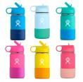 Hydro Flask Edelstahl-Trinkflasche mit Strohhalm für Kinder
