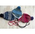 Kinder Mütze Sari aus Bio-Wolle/Baumwolle | Reiff