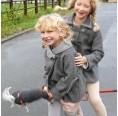 Walkjacke für Kinder aus regionalem Strickloden