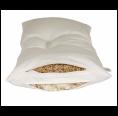 Speltex 2-Kammer Kombi-Schlafkissen mit Wollkügelchen & Bio Hirse mit Kautschuk