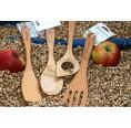 Küchenhelfer Set aus Bio Kirschholz 4-teilig | Biodora