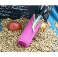 Ersatz Neoprenbezug pink für Glasflasche | Doras