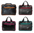 Panther Laptop Tasche, Upcycling Schultertasche | Ecowings