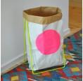 Papiersackhalter neongrün von kolor