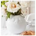 Porzellanvase Amüsiert, weiß | Fiftyeight Products