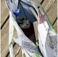 Upcycling Shopper fair.spielt - weißer Fisch | Milchmeer