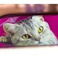 Upcycling Federmäppchen Katze | Sundara Paper Art