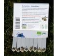 SaatSticks Essbare Blüten aus Bio-Anbau von ARIES