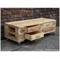 Sideboard mit 4 Schubladen aus recycelten Europaletten