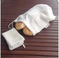 Unverpackt Set Beutel aus Bio-Baumwolle | fesch & fair