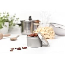 Kräuterdose – runde Blechdose für Gewürze & Kräuter, Stülpdeckel, 200 ml