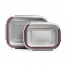 Edelstahl Frischhaltedose, einzeln oder im Set