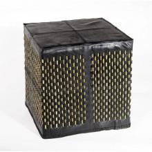 Stick | quadratisches Sitzkissen | Upcycling-Möbel