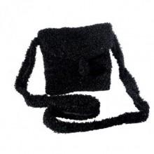 Mademoiselle | schwarze Handtasche aus Wolle