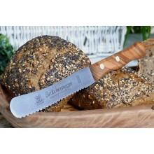 Brötchenmesser mit Olivenholzgriff