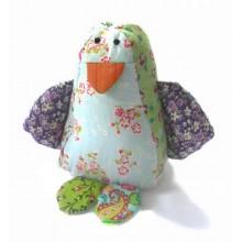 Kuscheltier | Fred der Pinguin aus Baumwolle