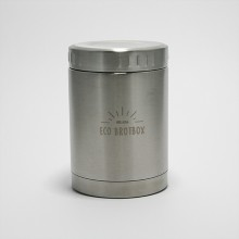 Isolierbehälter BO 0,5 L aus Edelstahl von Ecobrotbox