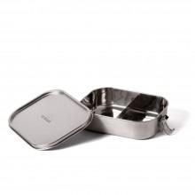 Bento Flex+ – Edelstahl Lunchbox, auslaufsicher, mit flexibler Trennwand