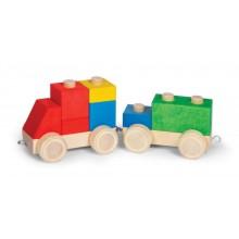VARIS Steckklötze Fahrzeug 9 – Holzspielzeug