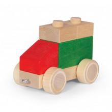 VARIS Steckklötze Fahrzeug 4 – Holzspielzeug
