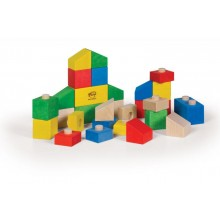 VARIS Steckklötze 28 Teile – Holzspielzeug