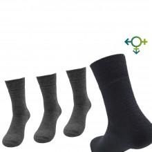 Alpaka Soft Socken, einfarbig, Unisex Socken, Einzelpaar oder 3er Pack