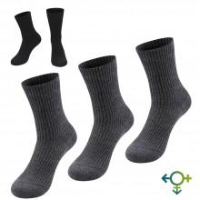 Alpaka Gesundheitssocken, einfarbig, Medizinische Socken, Einzelpaar oder 3er Pack