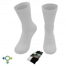 Alpaka Tennissocken, einfarbig, Unisex Sportsocken, Einzelpaar oder 3er Pack