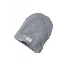 Knit Beanie Classic grey mélange, Unisex Strickmütze aus Bio-Baumwolle