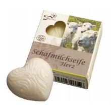 Saling Schafmilchseife Herz – ECOCERT