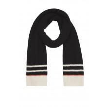Knit Scarf black - Schal aus Bio-Baumwolle